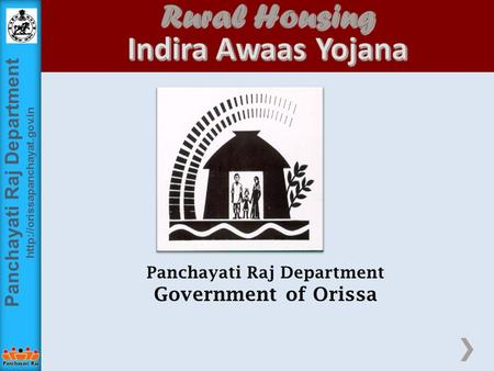 Panchayati Raj Department  Panchayati Raj Department Government of Orissa.