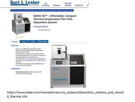 Https://www.lesker.com/newweb/vacuum_systems/deposition_systems_pvd_nano3 6_thermal.cfm.