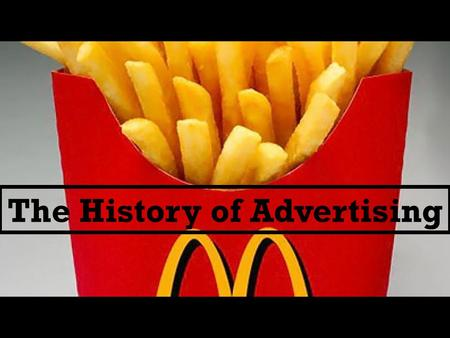 the history and importance of advertising [insurance] is in one of the most competitive industries in terms of marketing, says edward gold, state farm's advertising director,we were in a $500 million dollar advertising category just 15.