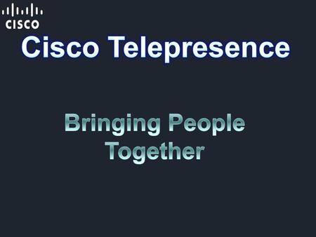 "Cisco TelePresence is a unique, ""in-person"" experience for business and personal meetings with people in different physical locations. So when you sit."