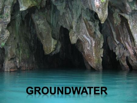 Subterranean water that saturates the Earth's crust just below the surface What is it?