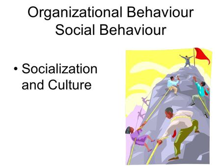 social medias effect on organizational behavior Social media is a tool that has emerged in the last 10 years as a new way for companies to expand marketing techniques and alter organizational behavior.