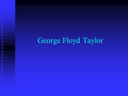 George Floyd Taylor. Urgency Need to know the truth of personal Spirit Baptism Need to know the truth of personal Spirit Baptism And the place of Pentecostals.