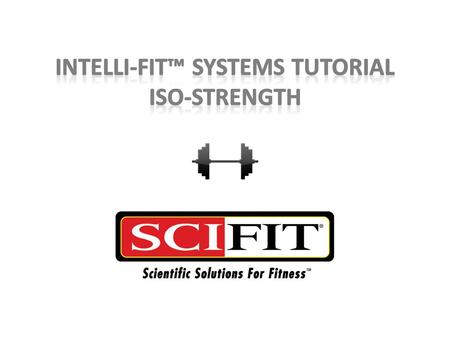 Iso-Strength Iso-Strength is an accommodating resistance program that allows the user to set a target RPM (reps per minute) rate. The resistance is increased.