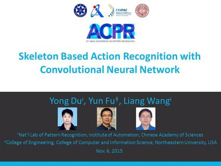 Skeleton Based Action Recognition with Convolutional Neural Network