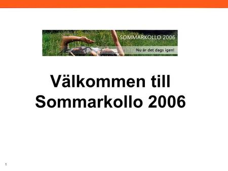 1 Välkommen till Sommarkollo 2006 2006. Windows Presentation Foundation Per Östman ISV Developer Evangelist