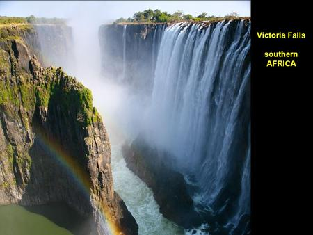 Victoria Falls … southern Africa Victoria Falls southern AFRICA.