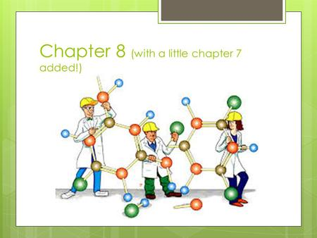 Chapter 8 (with a little chapter 7 added!). Types of Covalent bonds Covalent bonds are formed when atoms share valence electrons to get a total of 8.