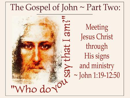 "The context of ""The Party"" John 12:9-11 9 Meanwhile a large crowd of Jews found out that Jesus was there and came, not only because of him but also to."