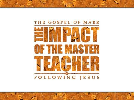 Mark 10:13-31 On Whose Terms? Mark 10:13-16 Jesus and Children Mark 10:17-22 Jesus and the rich man Mark 10:23-27 Jesus and the disciples Mark 10:28-31.