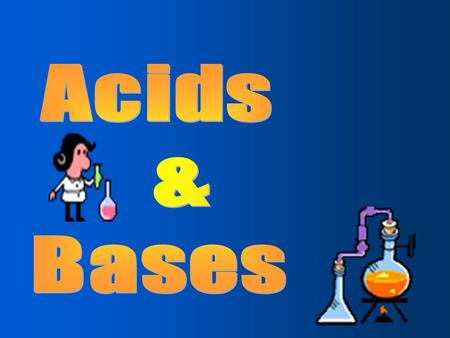 Acids contain hydrogen are electrolytes turn blue litmus paper red neutralize bases taste sour solutions react with active metal (Fe/Zn) to produce H.