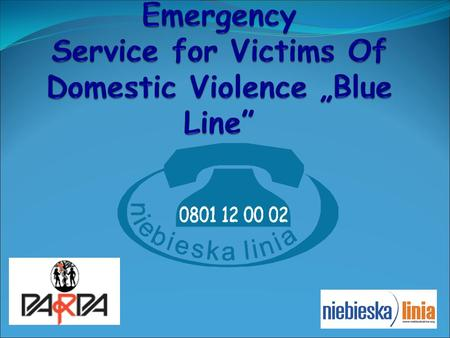 "Association "" Blue Line"" is NGO www.niebieskalinia.org."