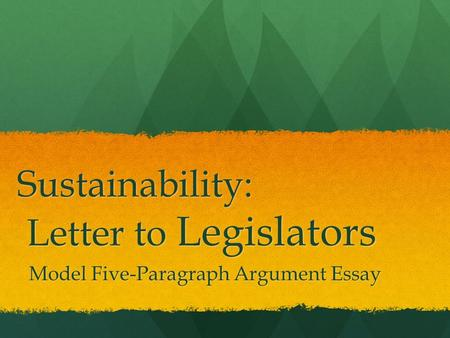 legislatures learnsmart 5 essay Whittington / review essay  although most view democracy as a good thing,  legislatures  5 on one hand, there has been a jurisprudential bias toward.
