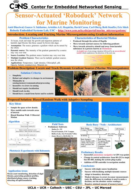Problem Description: Locate and Track Dynamic Gradient Sources (Marine Microorganisms) Problem Description: Locate and Track Dynamic Gradient Sources (Marine.