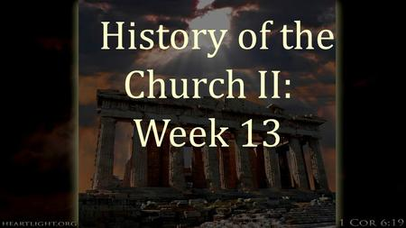 "History of the Church II: Week 13. Evangelizing the Globe  Over the top of a shoemaker's workshop hang a sign that said ""Secondhand shoes bought and."