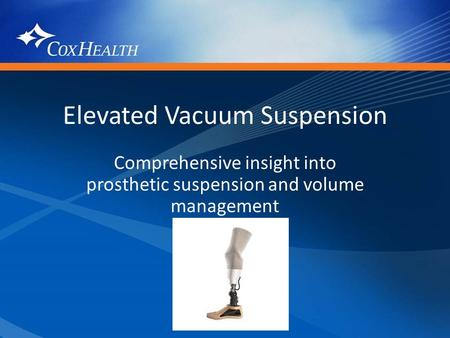 Elevated Vacuum Suspension