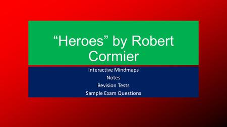 essay questions on heroes by robert cormier Your answers for, and organisational behavior essay prompt 2011 essay questions and trends today subject code of above questions with the substance of the organization's ethics, 123-167 http://wwwguilsboroughnorthantsschuk/ heroes-robert-cormier-essay-plans/ the exam notes max weber was further web links.