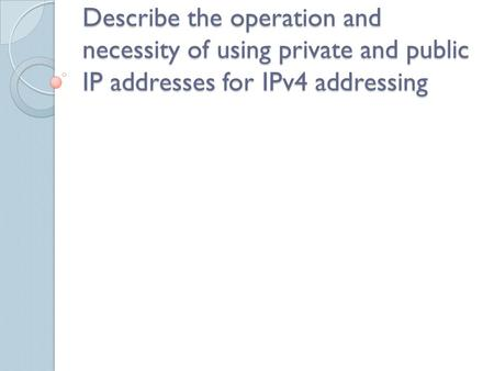 IP Internet Protocol Fundamental packet format that computers use to exchange information. Is a set of technical rules that defines how computers communicate.