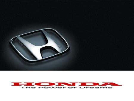 Mr. Soichiro Honda founded the Honda Motor Company in 1948 which is in its 63 rd year of successful operation in 2011. In the same year 1948, he designed.