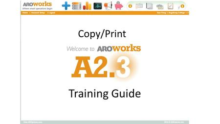 Training Guide Copy/Print. Log into Inside Augsburg.