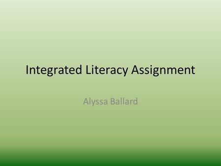 Integrated Literacy Assignment Alyssa Ballard. GLCE 5- U2.3.2 Describe the daily life of people living in the New England, Middle, and Southern Colonies.