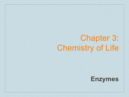 Chapter 3: Chemistry of Life Enzymes. Carbon and Bonding What makes carbon so unique is the ability to bond 4 times because it has 4 valence shell electrons.