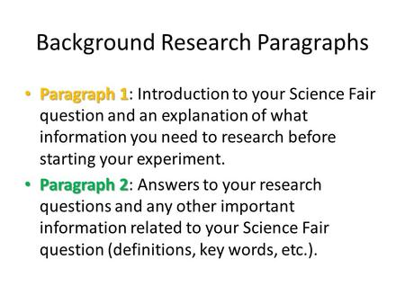 scientific research paper examples