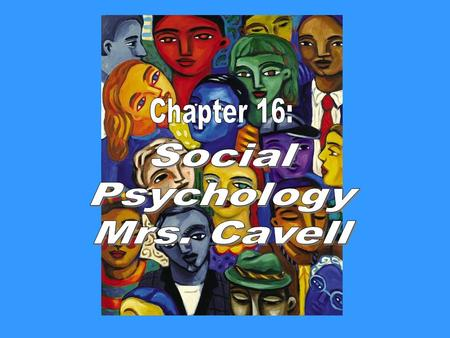 "Thought to Consider in Social Psychology ""We cannot live for ourselves alone."" Herman Melville."