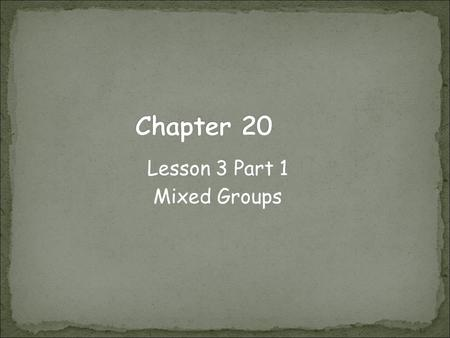 Lesson 3 Part 1 Mixed Groups. Noble gases stability what makes them useful Helium light weight makes it useful in lighter-than- air blimps and balloons.