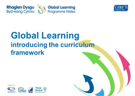 In partnership with Global Learning introducing the curriculum framework.