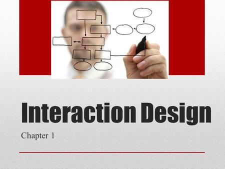 Interaction Design Chapter 1. Good design? Bad design?