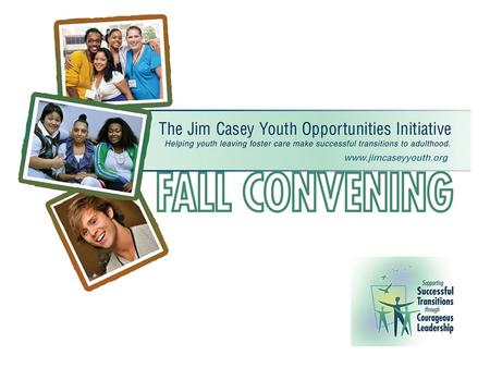 In the Current Environment Policy Matters: Initiative Policy Goals Lynn Tiede Jim Casey Youth Opportunities Initiative.