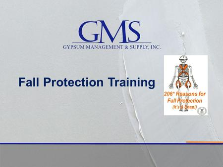 Fall Protection Training. - Falls remain the number one cause of fatalities in the construction industry. FALL PROTECTION FACT!!!