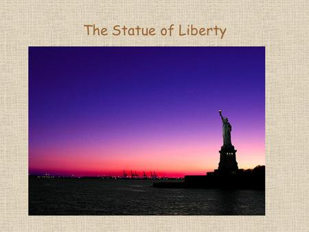 The Statue of Liberty. The Statue of Liberty is a majestic copper sculpture that towers above Liberty Island at the entrance of New York Harbor in Upper.