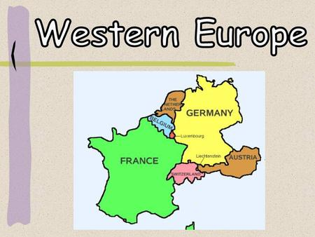 CENTRALWESTERN EUROPE Ppt Video Online Download - Western europe