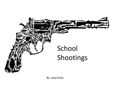 School Shootings By: Jake Pullen. Oct. 1, 1997 Pearl, Miss. Two students killed and seven wounded by Luke Woodham, 16, who was also accused of killing.