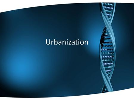 Urbanization. Americans Migrate to the Cities The city offered many things that the rural areas did not – electricity, running water, modern plumbing.