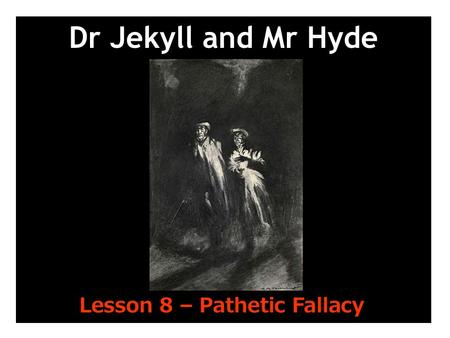 Dr jekyll and mr hyde chapter