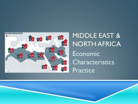 MIDDLE EAST & NORTH AFRICA Economic Characteristics Practice.