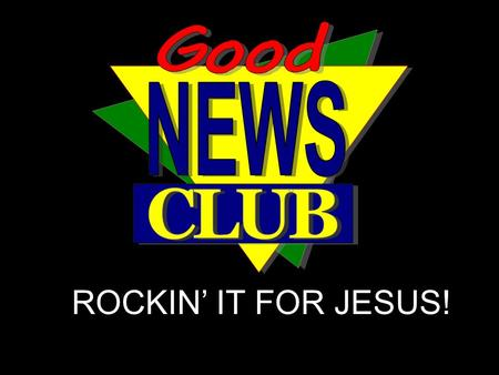 ROCKIN' IT FOR JESUS!. Nothing, nothing, Absolutely nothing! Nothing, nothing, Absolutely nothing!