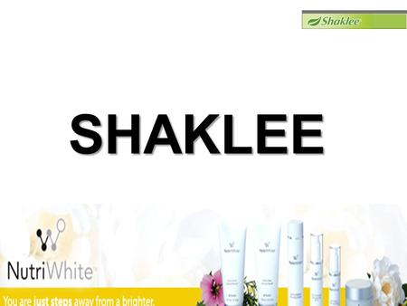 SHAKLEE. FEEL UNCOMFORTABLE WITH YOUR FACE'S SKIN ??