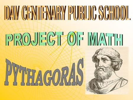 The other two philosophers who were to influence Pythagoras, and to introduce him to mathematical ideas, were Thales and his pupil Anaximander who both.