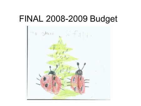 FINAL 2008-2009 Budget. Assumptions COLA 5.66% Deficit -5.36% NET COLA 0.0% 21,550 ADA (decline of 823.14 07/08 P-2) –For Revenue 22,370 –For Staffing.