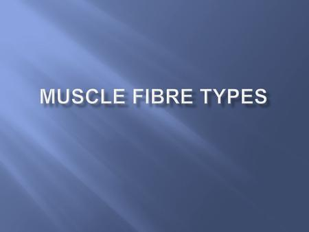  Basically if a stimulus is received by muscle cells (fibres) and it is great enough to cause a response – the fibres respond by contracting & relaxing.