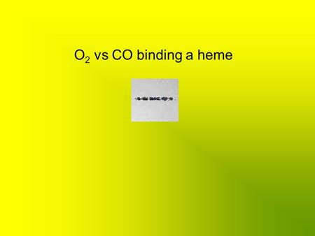O 2 vs CO binding a heme. Understand and identify weak and strong electrolytes OWL – 7.6 o Strong electrolyte Dissolve & 100% Dissociate Strong electrolyte.