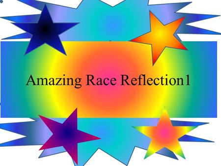 Amazing Race Reflection1. Hi everyone! So we have a task it is amazing race but it is cyber we have to do challenges and we have to have a artefacts page.