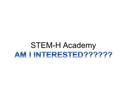 Contact Information Mailing Address: STEM-H Academy - Botetourt County Public Schools Greenfield Education and Training Center – Room 103 57 South Center.