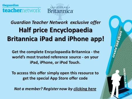 Get the complete Encyclopaedia Britannica - the world's most trusted reference source - on your iPad, iPhone, or iPod Touch. To access this offer simply.