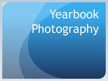 Yearbook Photography Things you should probably know if you don't. And some math! Shutter – around ¼ - 1/4000. the bigger the number underneath 1, the.