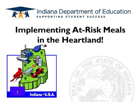Subtitle Implementing At-Risk Meals in the Heartland!